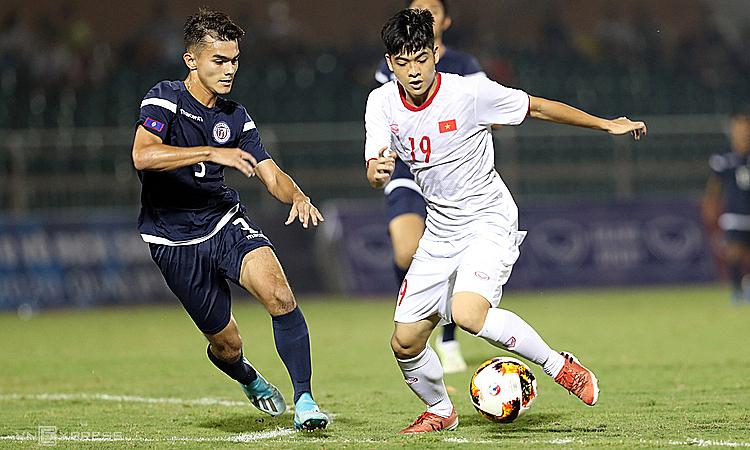 U19 Việt Nam có thể rơi vào bảng tử thần ở giải U19 châu Á. Ảnh: Đức Đồng.