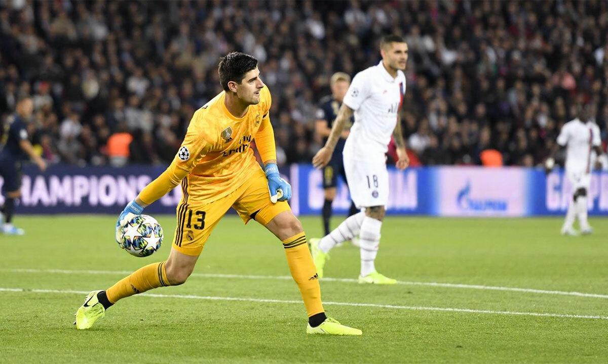 Những điều chỉnh và nỗ lực của bản thân giúp Courtois tạo bước ngoặt cho sự nghiệp của anh tại Madrid, để rồi khẳng định vị thế số một trong khung gỗ. Ảnh: La Meuse /Photo News.