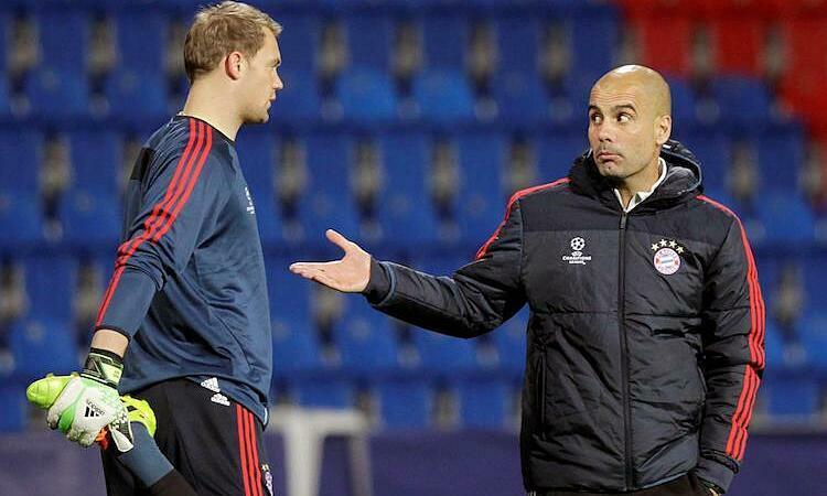 Guardiola bị cho là không được lòng cầu thủ Bayern. Ảnh: Reuters.