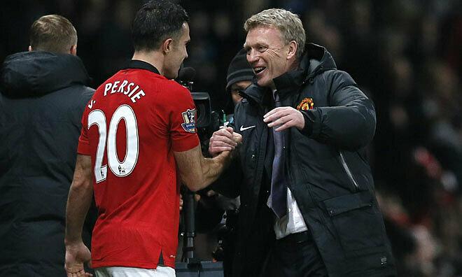 Van Persie sa sút dưới thời Moyes, nhưng anh cho rằng các cầu thủ Man Utd đều phải nhận trách nhiệm. Ảnh: Reuters.