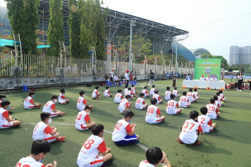 Lễ ra mắt Lotte Kids FC 2020.
