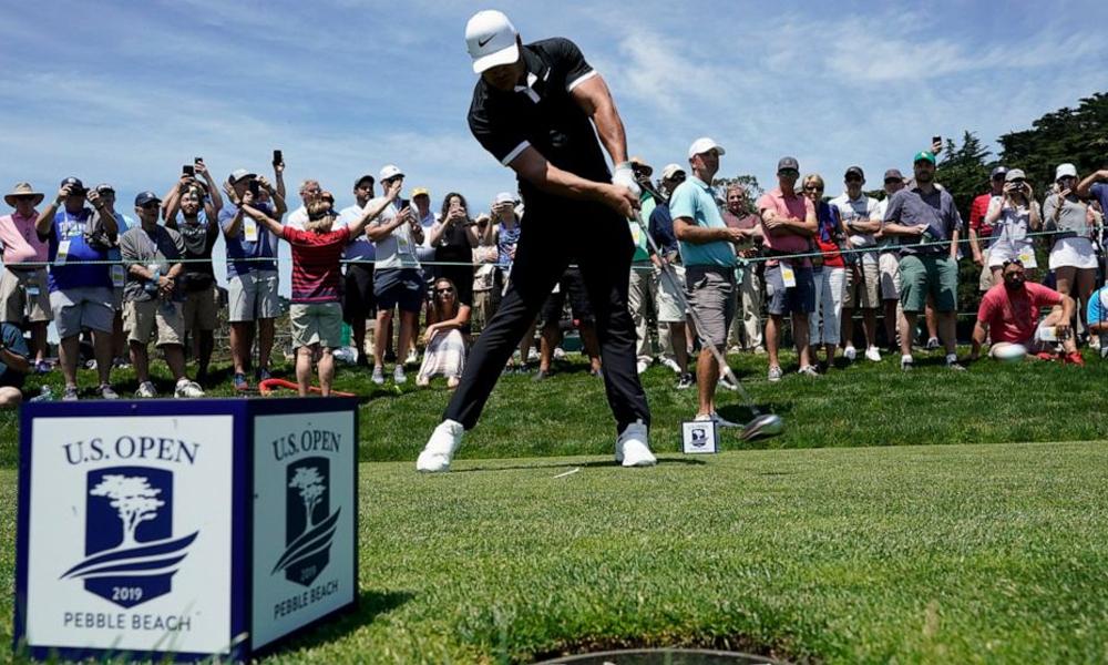 US Open 2020 sẽ chỉ dành cho các golfer đặc cách. Ảnh: AP.