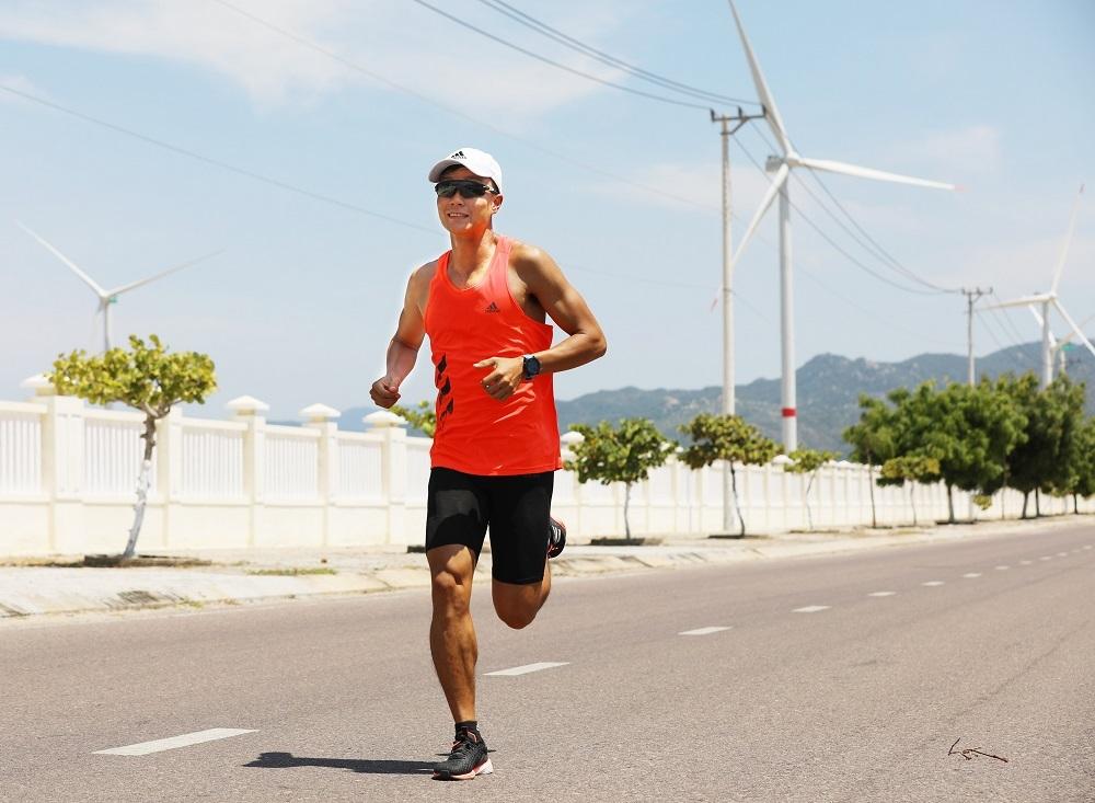 Lê Quang Hòa, nhà vô địch cự ly 42km VM Quy Nhơn 2019.