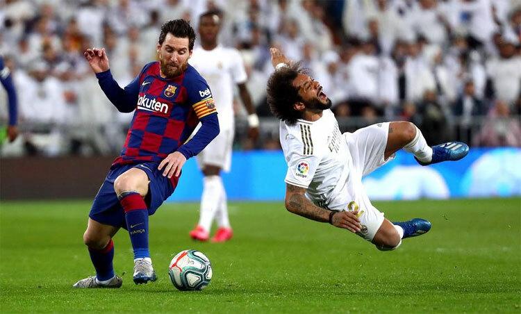 Barca, Real sẽ không còn thịnh vượng như trước. Ảnh: Reuters.