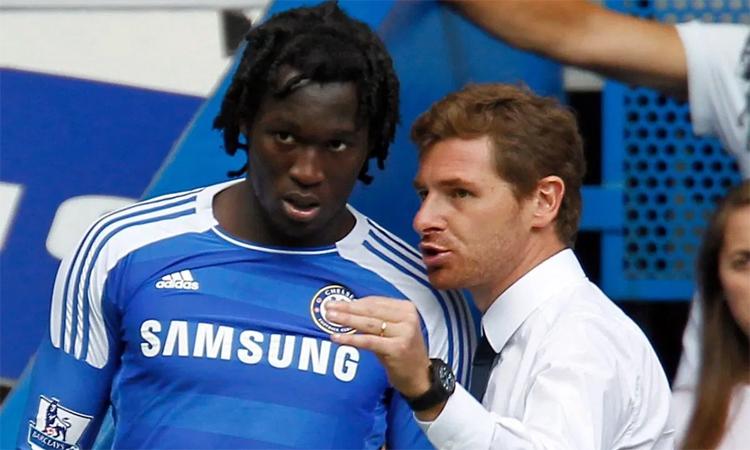 Villas-Boas không tin tưởng và trao cơ hội cho Lukaku trong hơn nửa mùa làm việc tại Chelsea.