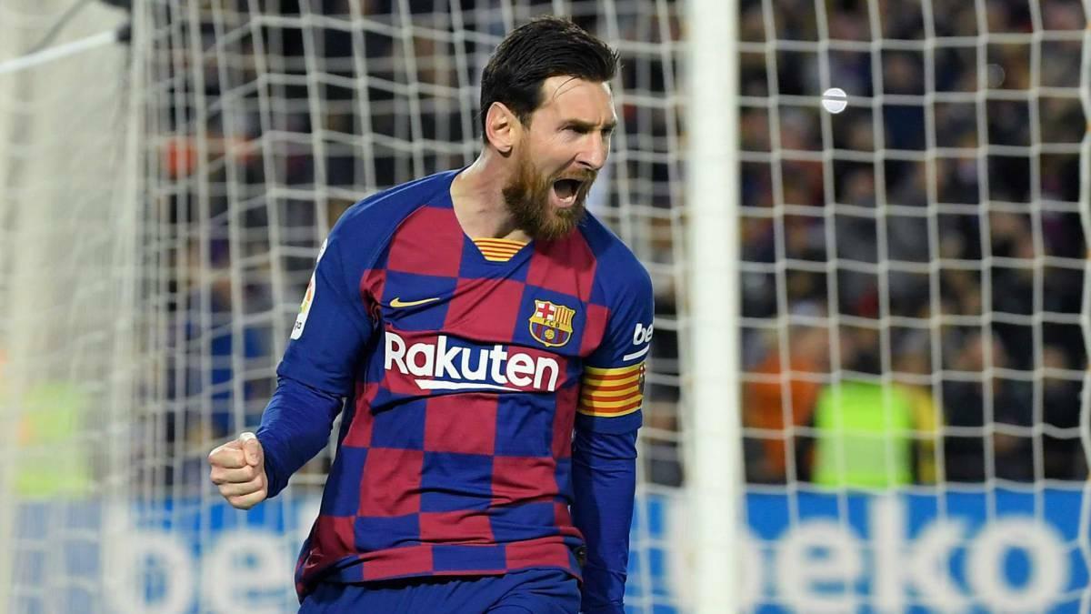 Đầu năm 2008, Messi vẫn sống dưới bóng của Ronaldinho ở Barca. Inter muốn nhân cơ hội này để cuỗm anh khỏi Camp Nou. Ảnh: AFP.