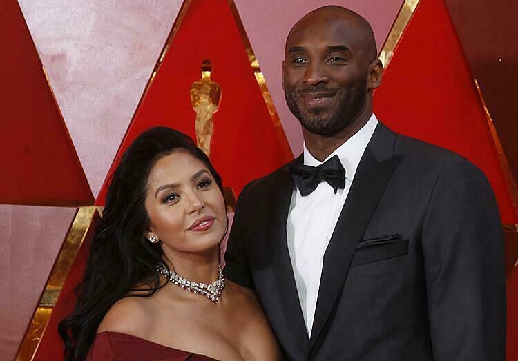 Vanessa và Kobe Bryant có gần 20 năm chung sống. Ảnh: Reuters.