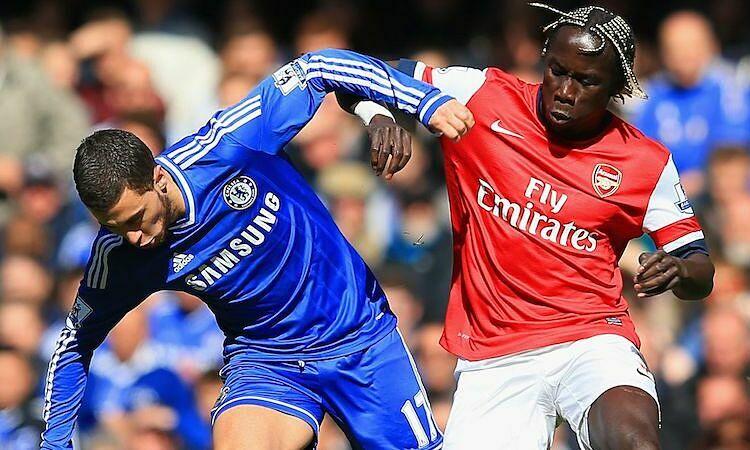 Sagna cho rằng Arsenal bị khớp mỗi lần đối đầu đội hình nhiều sao của Chelsea. Ảnh: AFP.