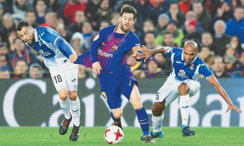 Messi đứng đầu thế giới ở nhiều chỉ số quan trọng, trong đó có rê bóng. Ảnh: Reuters.
