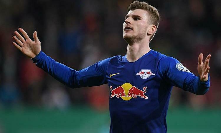 Werner khó có thể đến Liverpool trong mùa hè năm nay. Ảnh: Reuters.