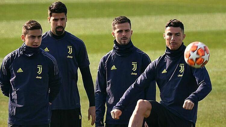 Các đội tại Serie A đã được tập lại từ 18/5. Ảnh: Sky.
