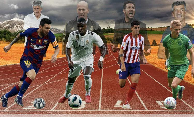 La Liga chuẩn bị thi đấu liên tục trong thời gian ngắn. Ảnh: AS.