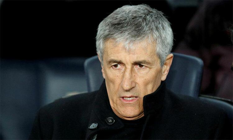 Setien lo Barca không thể thích ứng với thay đổi. Ảnh: Reuters.