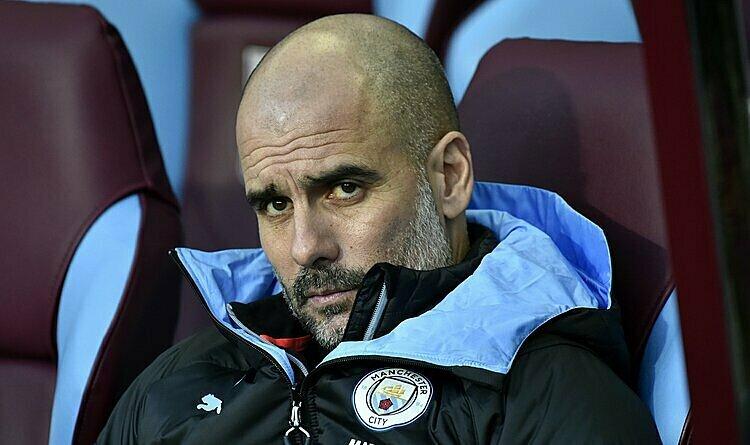 Pep Guardiola từng hai lần vô địch Ngoại hạng Anh. Ảnh: AP.