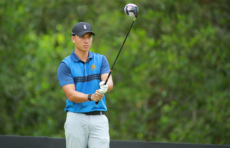 Duy Nhất là golfer hay nhất Việt Nam trong những năm gần đây. Ảnh: LXC.