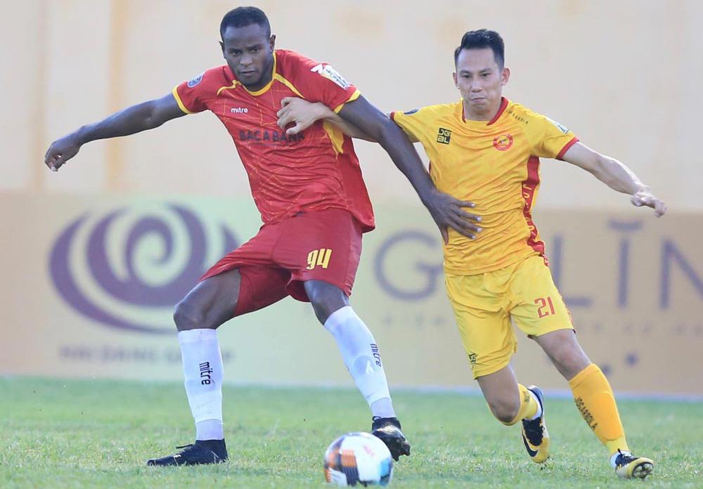 Thanh Hoá đang có chuỗi 8 trận bất bại khi tiếp đón SLNA tại V-League.