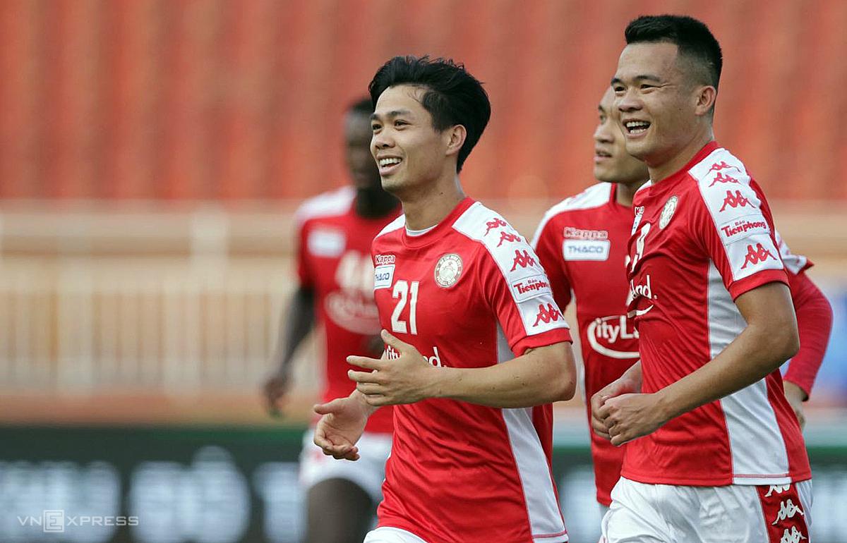 TP HCM – Sài Gòn FC: Công Phượng trở lại - VnExpress Thể thao