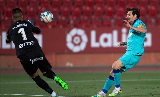 Messi khởi động suôn sẻ với Barca trong giai đoạn thi đấu trở lại.