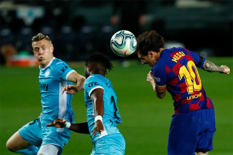 Messi đã có bàn thứ 699.
