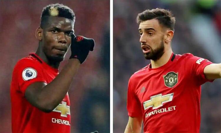 Man Utd đang có trong tay hai tiền vệ thuộc dạng hay nhất thế giới. Ảnh: Reuters.
