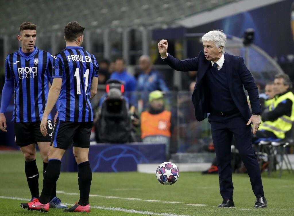 Danh tiếng Gasperini đang nổi như cồn ở Italy khi Atalanta bình dân của ông bay cao và xa ở cả Serie A lẫn Champions League. Ảnh: