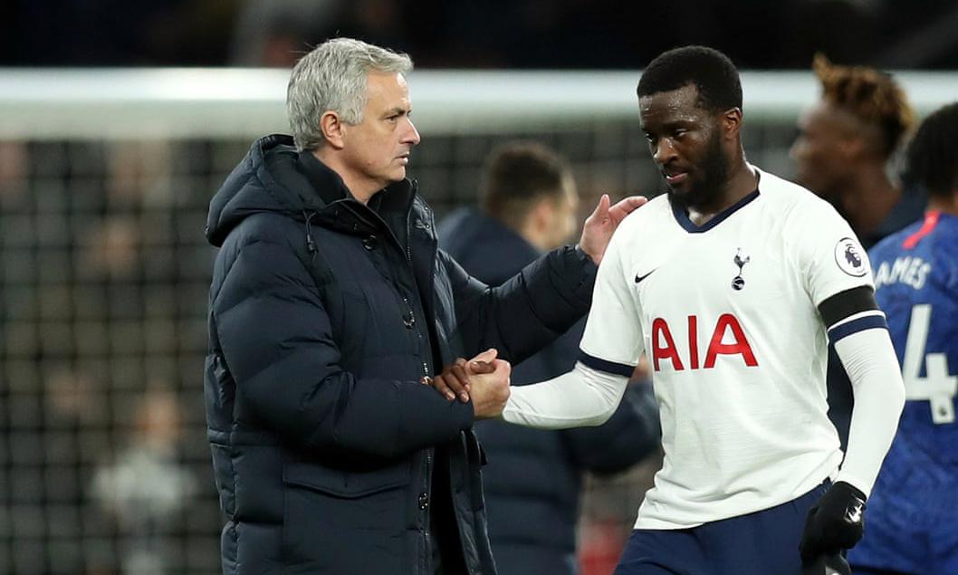 Quan hệ giữa Mourinho và Ndombele hiện rất xấu. Ảnh: Tottenham FC.