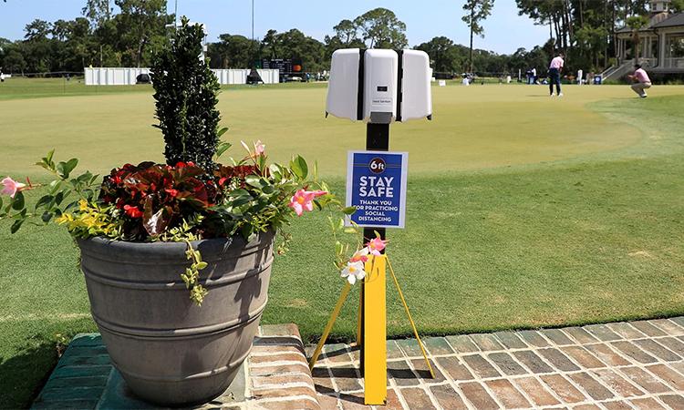 Quy trình phòng dịch được PGA Tour siết chặt trước việc thêm nhiều ca nhiễm nCoV. Ảnh: PGA Tour.