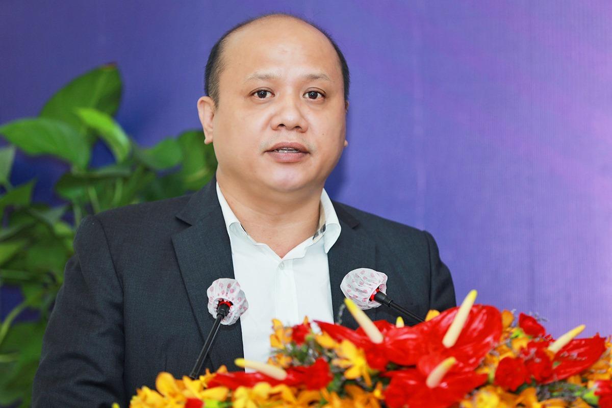 Ông Lê Trọng Khương - Tổng giám đốc Hưng Thịnh Land. Ảnh: Hữu Khoa