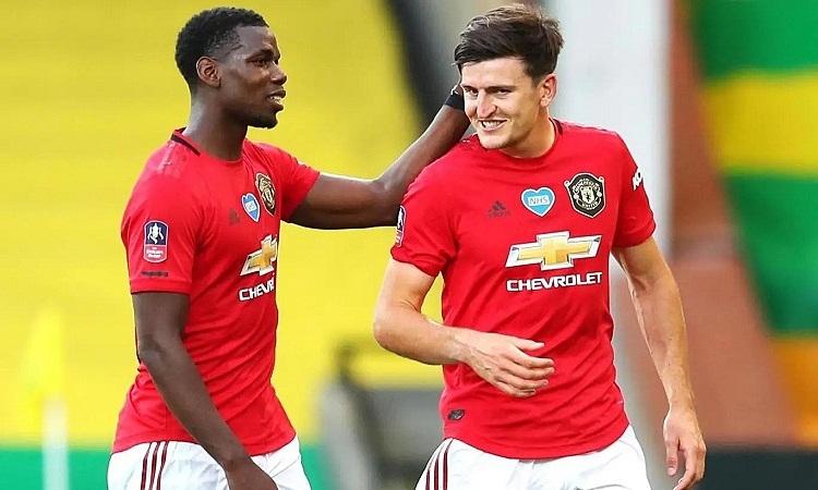 Sự có mặt của Maguire không giúp Roy Keane an tâm về hàng thủ Man Utd. Ảnh: PA.