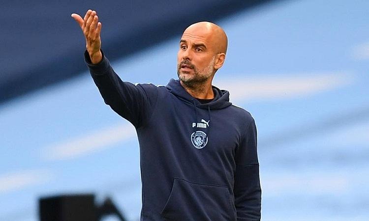 Guardiola hứa Man City sẽ vỗ tay tán thưởng Liverpool khi hai đội gặp nhau vào tuần tới. Ảnh: PA.