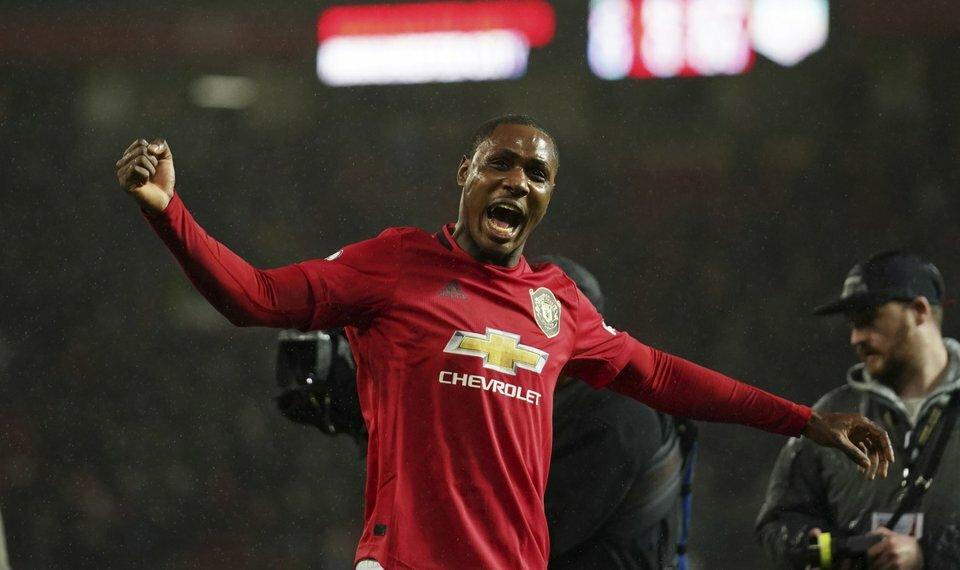 Ighalo góp công giúp Man Utd bất bại 13 trận liên tiếp. Ảnh: AP.