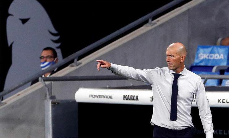 Zidane và Real đang trở lại với thành công. Ảnh: EFE.