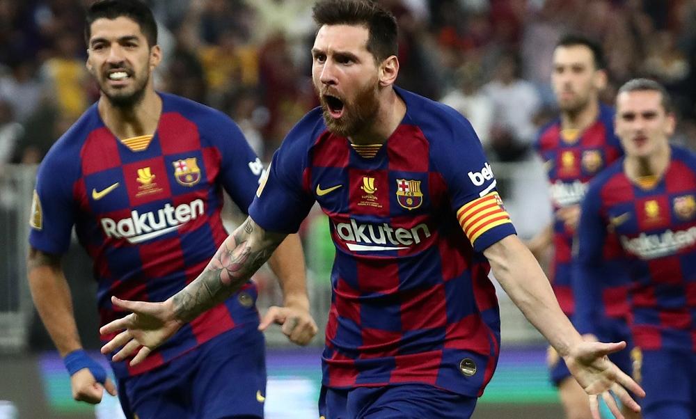 Messi đang có mạch ba trận tịt ngòi. Ảnh: Reuters.