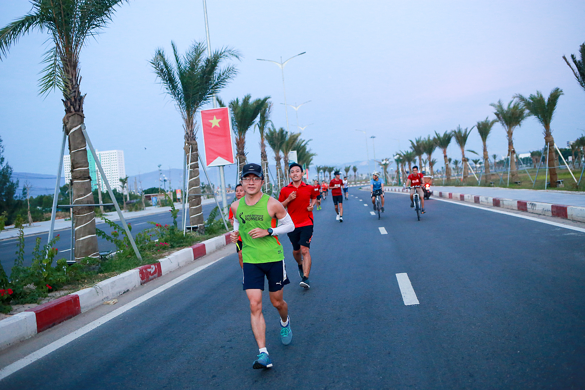 Runner Bình Định chạy thử cung đường VM Quy Nhơn 2020.