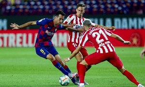 Barca 2-2 Atletico Madrid