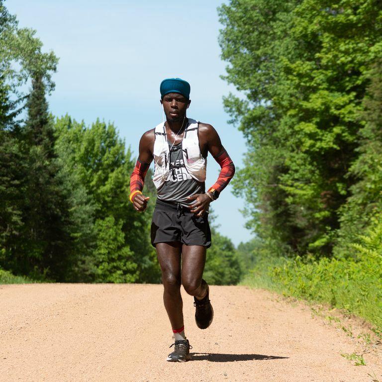 Woltering từng tham gia nhiều giải chạy, trong đó cự ly 1.900 km là chặng dài nhất sự nghiệp.