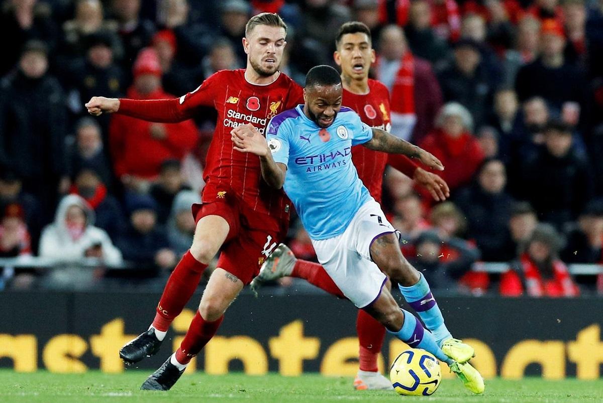 Liverpool và Man City là hai CLB mạnh nhất nước Anh lúc này. Ảnh: Reuters.