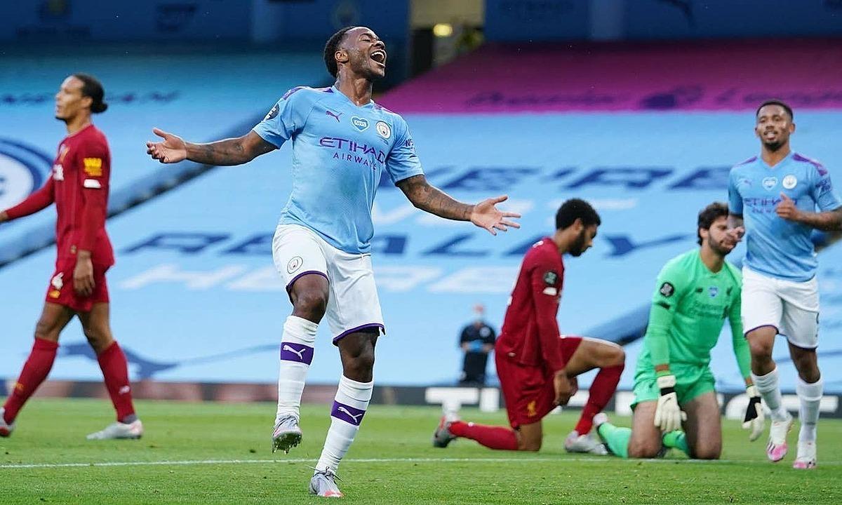 Man City khiến Liverpool thua trận thứ hai mùa này. Ảnh: Reuters.
