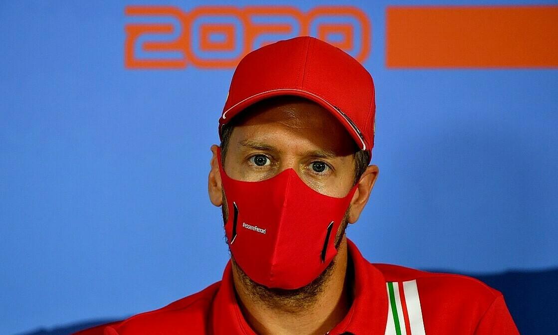 Vettel vẫn còn cơ hội vô địch cùng Ferrari cuối mùa này. Ảnh: Motorsport.