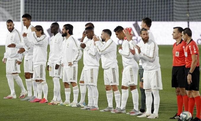 Khán đài trống vắng khiến Real và nhiều đội bóng chịu thiệt hại lớn. Ảnh: Marca.