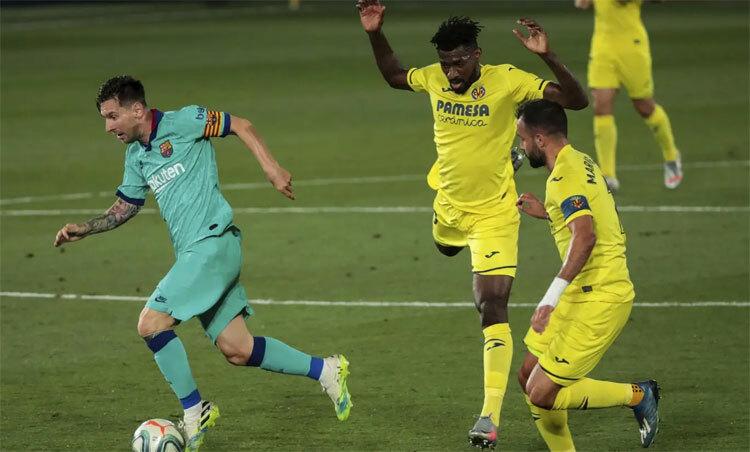 Messi chỉ thiếu bàn thắng để có một trận hoàn hảo.