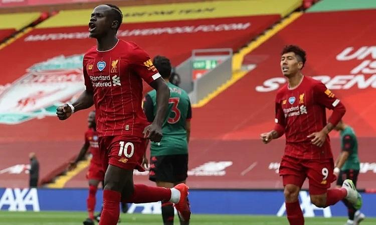 Mane giúp Liverpool khai thông khỏi sự bế tắc. Ảnh: Reuters.