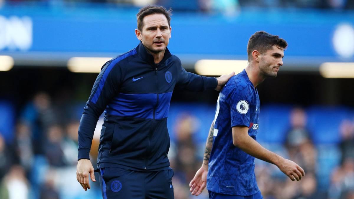 Lampard đánh giá cao tốc độ của Pulisic. Ảnh: Sun.