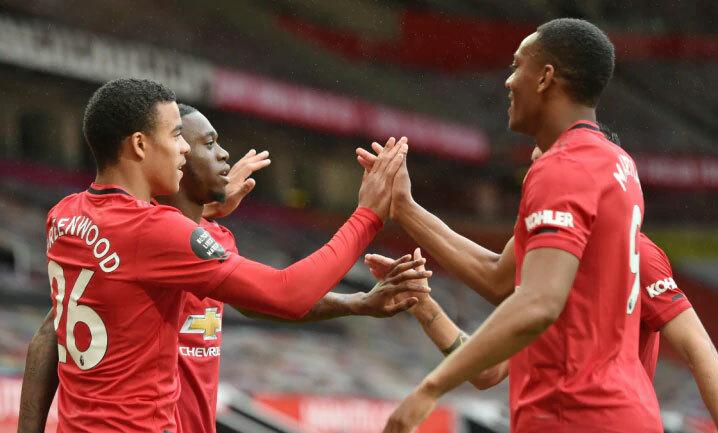 Man Utd đang sở hữu dàn cầu thủ trẻ đầy tài năng. Ảnh: Reuters.