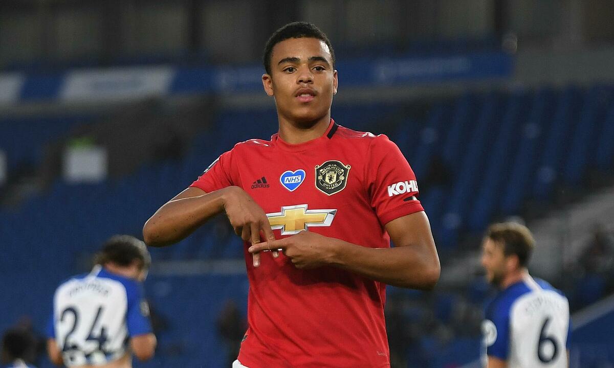 Greenwood đang nổi lên thành tài năng trẻ mới của Man Utd. Ảnh: Reuters.