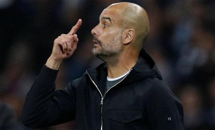 Man City không đạt được sự ổn định như Guardiola mong muốn. Ảnh: Reuters.