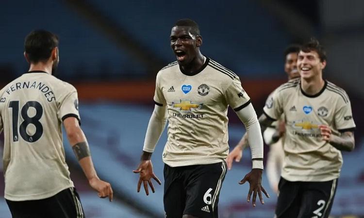 Man Utd thắng trận thứ tư liên tiếp với cách biệt ba bàn. Ảnh: Reuters.