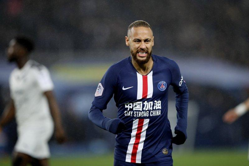 Không dễ để Neymar và đồng đội vượt qua Atalanta. Ảnh: AP.