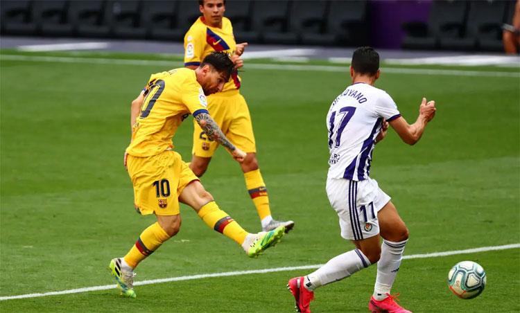 Thành tích ghi bàn của Messi đang theo chiều hướng giảm.