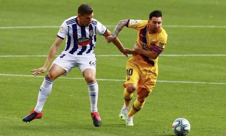 Ngay cả khi ghi ít bàn hơn so với những mùa trước, Messi vẫn tạo sự khác biệt lớn. Ảnh: Reuters.
